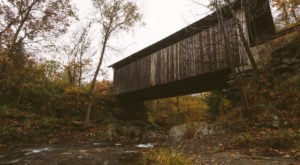 One of the Most Haunted Bridges in Vermont, the Gold Brook Bridge, Has Been Around Since 1844