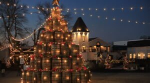 Enjoy Ice Skating, Holiday Shopping, And All Kinds Of Festivities At Vintner Wonderland in New Jersey