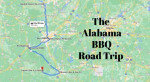 This Road Trip Will Take You To 7 Of Alabama's Best BBQ Restaurants