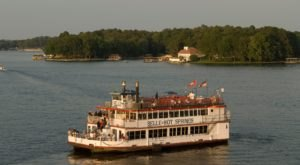 Experience An Unforgettable Dinner On The Belle of Hot Springs Riverboat Cruise In Arkansas