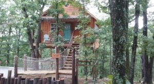There's A Treehouse Village In Arkansas Where You Can Spend The Night