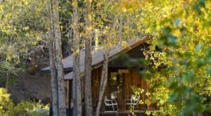 This Mountain Cabin In Northern California Is A Quiet Getaway All Four Seasons Of The Year