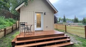 Sneak Away To This Bright And Modern Tiny Home In Alaska With Stunning Views Of The Chugach Mountains