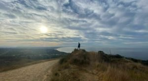 You Can See For Miles When You Reach The Top Of Paseo Miramar Trail In Southern California