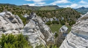 The Teepee Rocks Are A Well-Hidden Geologic Wonder In Idaho That Are So Worth Seeking Out