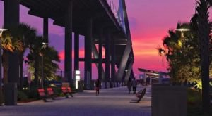 Found Beneath South Carolina's Tallest Bridge, The Mount Pleasant Pier Is A Must-Visit Attraction
