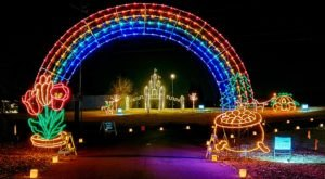 Drive Through 2.5 Miles Dotted With Over One Million Lights At Galaxy Of Lights In Alabama