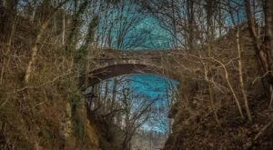 One Of The Most Haunted Bridges In North Carolina, Helen's Bridge Has Been Around Since 1909