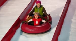 Tackle An 8-Lane Snow Tubing Hill At Gaylord Texan Resort In Texas This Year