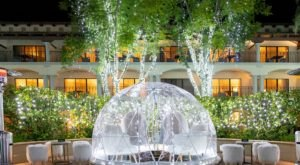 Sip Cocktails In Your Own Private Heated Igloo At The Fairmont Scottsdale Princess In Arizona