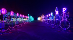 Drive Through Over A Million Holiday Lights This Season At The Light Park In Texas
