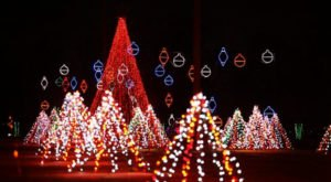 Alabama's Enchanting Christmas Nights Of Lights Holiday Drive-Thru Is Sure To Delight