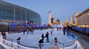 This Year, The Ice Rink At Winterfest In Oklahoma Is Moving Indoors And It's Bigger And Better Than Ever