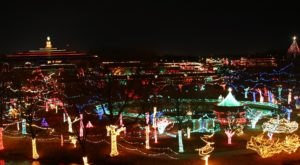 Walk Through Over 2 Million Lights At  Rhema Christmas Lights, One Of The Largest Light Displays In Oklahoma