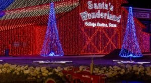 Santa's Wonderland Is The Largest Outdoor Christmas Attraction In Texas