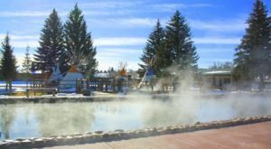 Soak In The Hot Springs And Stay Overnight At Saratoga Hot Springs Resort In Wyoming