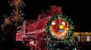 Hop Aboard The Paradise & Pacific Railroad In Arizona To Feel The Magic Of The Season