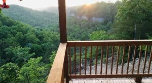 This Remote Kentucky Cabin Offers Some Of The Best Views From Its Back Porch