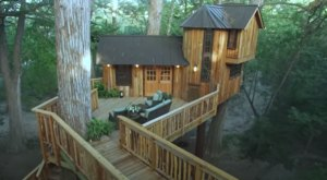 There's A Treehouse Village In Texas Where You Can Spend The Night