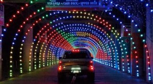 Drive Through Millions Of Lights At Charlotte Motor Speedway In North Carolina This Holiday Season