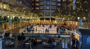 You Can Ice Skate Outdoors In South Carolina This Season At Ice On Main In Greenville