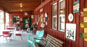 For Low-Key, Home Cooked Food In A Rustic Atmosphere, Head To The Red Shed Diner In South Carolina