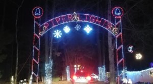 You Can Drive Through The 7 Acres Of Christmas Lights At Piper Lights In North Carolina Without Spending A Dime