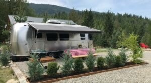 Spend The Night In An Airstream In The Middle Of North Idaho's Mountains