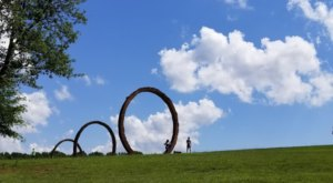 The Country's Largest Museum Park Is Found In North Carolina And Features 164 Acres Of Trails And Art Installations