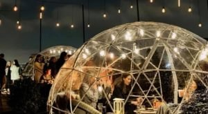 Dine Inside A Private Igloo At Cork Bar & Restaurant In Pennsylvania