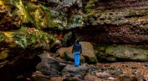 Once COVID Is Over, Make A Beeline For The Coolest Place To Have An Adventure In Wisconsin, Parfrey's Glen