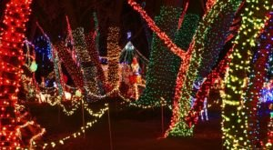 The Rock Creek General Store In Idaho Is Home To An Epic Holiday Light Display That Doesn't Cost A Thing To See