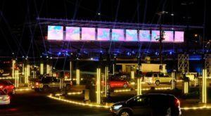 The Lights, Sights, And Sounds Of The Jingle Beat Drive-Thru Light Display In Nashville Will Delight Your Senses