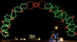 See Santa From The Car And Drive Through A Mile Of Christmas Lights At Delaware's Winter Wonderfest