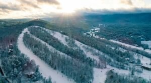 Spend The Perfect Winter Weekend Skiing And Snow Tubing At Bryce Resort In Virginia's Shenandoah Valley