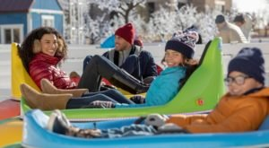 Ice Bumper Cars Are The One Of A Kind Winter Attraction In Colorado You Need To Experience For Yourself