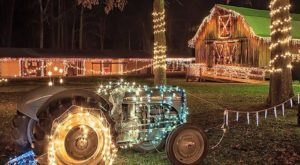 6 Drive-Thru Christmas Lights Displays In West Virginia The Whole Family Can Enjoy