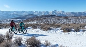 Winter Fat Biking Is The One Of A Kind Winter Attraction In Utah You Need To Experience For Yourself
