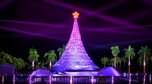 Even The Grinch Would Marvel At The Holiday Tree At Sandi Land In Florida
