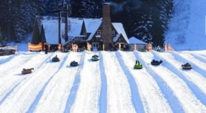 Tackle A Huge Snow Tubing Hill At Mt. Hood Skibowl In Oregon This Year