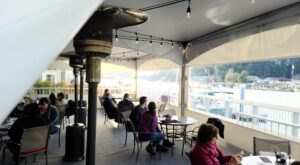 Dine Outdoors On The Waterfront All Year Long At La Conner Seafood & Prime Rib House In Washington
