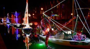 This Holiday Boat Display In Maryland Is Better Than Ever For 2020