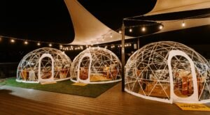 Enjoy Locally Brewed Drinks And Tasty Food Inside A Cozy Igloo In Northern Kentucky