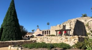 The Historic 240-Year Old Mission San Juan Capistrano In Southern California Is All Decked Out For The Holidays And It's Truly Spectacular