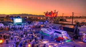 Wanderland At Area 15 In Nevada Is An Out-Of-This-World Outdoor Holiday Experience