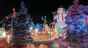You've Gotta See These 9 Spectacular Neighborhood Christmas Light Displays In Minnesota