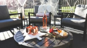 Sip And Snuggle Inside Your Very Own Snow Globe At Washington's Chateau Ste. Michelle Winery