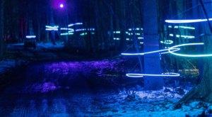 Meander Through A Magical Winter Forest At Glenlore Trails Aurora In Michigan