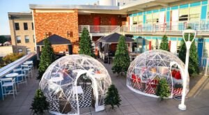 Hang Out In An Igloo At This One-Of-A-Kind North Carolina Rooftop Bar