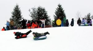 Tackle A 275-Foot Snow Tubing Hill At Rolling Hills County Park Near Detroit This Year